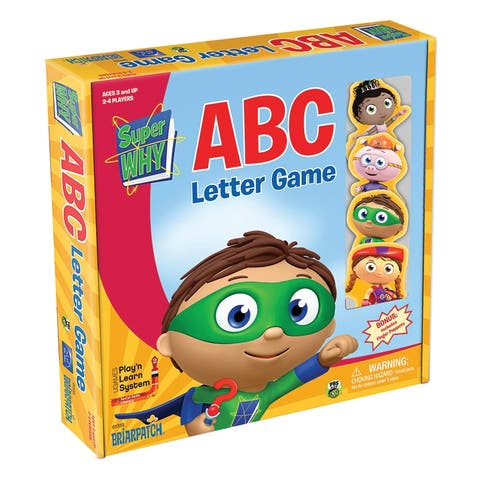 Briarpatch super why abc letter game 01333