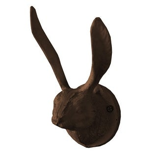 Shop Kalalou Cast Iron Rabbit Wall Hook Rustic 3 82 In