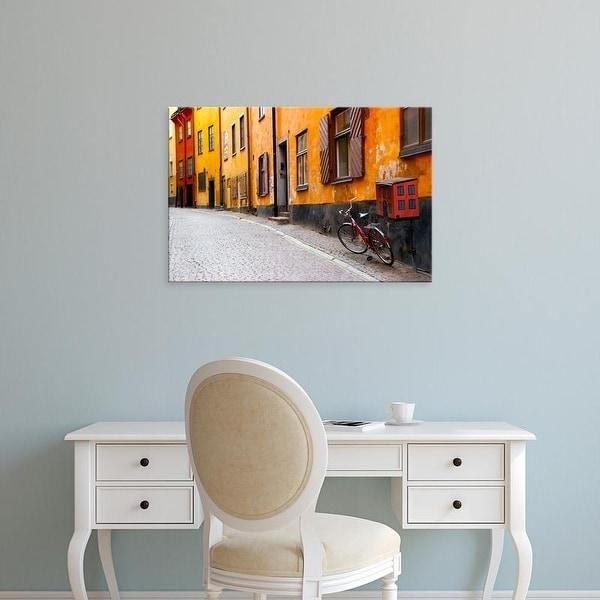 Easy Art Prints Jaynes Gallery's 'Street Scene In Gamla Stan' Premium Canvas Art
