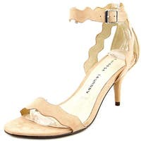 Chinese Laundry Womens Rosie Suede Open Toe Casual Ankle Strap Sandals