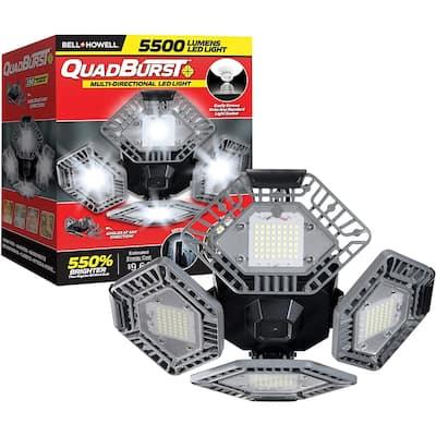 Bell&Howell Quadburst LED Lighting with 5,500 Lumens