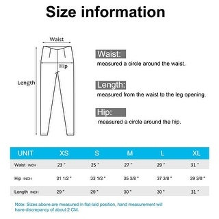 AFITNE Workout Leggings for Women with Pockets High Waisted Tummy Control Ath... - X-Small