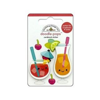 5867 Doodlebug Sweet Summer Doodle Pops Fruit Punch