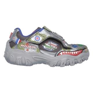 Skechers 91536 GUMT Boy's DAMAGER-GAME KICKS II FIGHT Sneaker
