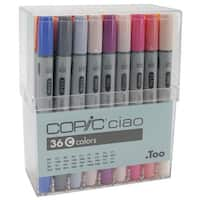 Copic Ciao Markers 36pc Set-Set C