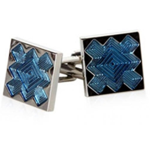 Blue Explosion Cufflinks