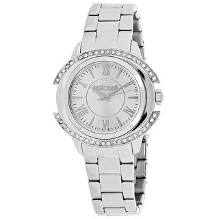 Just Cavalli Women's Just Decor Silver Dial Watch