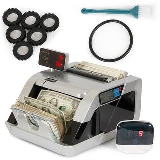 Arksen DUAL Display + External Money Bill Counter Counterfeit DD Detection UV
