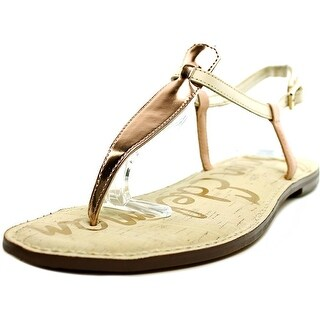 Sam Edelman Gigi Women Open Toe Leather Multi Color Thong Sandal