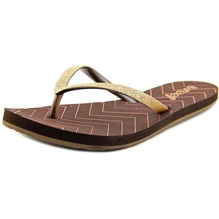 8e0088acdce Top Product Reviews for Reef Stargazer Print Open Toe Synthetic Flip ...