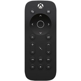 Microsoft Black Media Remote Control for Microsoft Xbox One