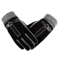 Tagco USA  Mens Anti-Skid Windproof Thermal Gloves, Black