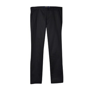 Polo Ralph Lauren Women's Modern Sateen Pants (4, Polo Black) - polo black