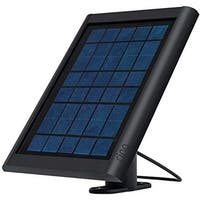 Ring 8ASPS7-BEN0 Spotlight Solar Panel for Stick Up Cam, Black, 2 Watts, 6 Volts