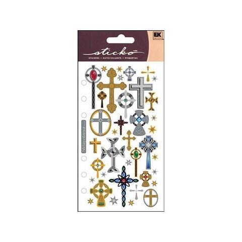 EK Sticko Sticker Crosses