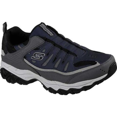 Skechers Men's After Burn M. Fit Slip-On Walking Shoe Navy/Gray