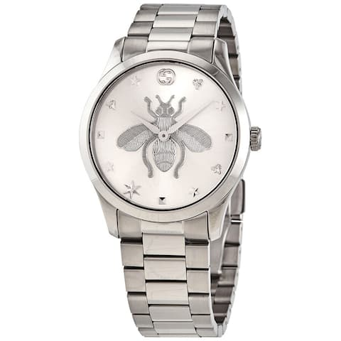 Gucci Silver Dial Ladies Watch - One Size