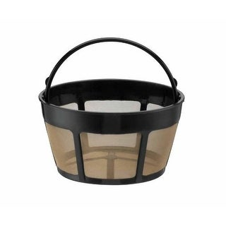 GoldTone Reusable 8-12 Cup Basket Style Replacement Coffee Filter, Fits Cuisinart Coffee Makers and Brewers