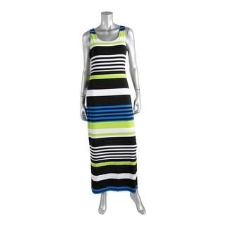 Jessica Howard Womens Lined Side Slits Maxi Dress - S