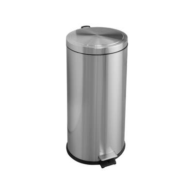 Tramontina 8 Gal Step Can - Round Shape - SS