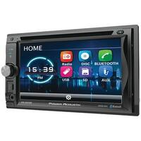 "POWER ACOUSTIK PD-625B 6.2"" Incite Double-DIN In-Dash Detachable LCD Touchscreen DVD Receiver with Bluetooth(R)"