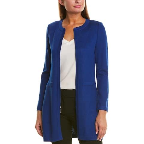 St. John Nouveau Wool-Blend Jacket