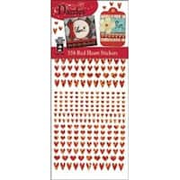 Red Hearts - Dazzles Stickers