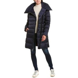 Link to Tahari Zipped Long Down Coat Similar Items in Women's Outerwear