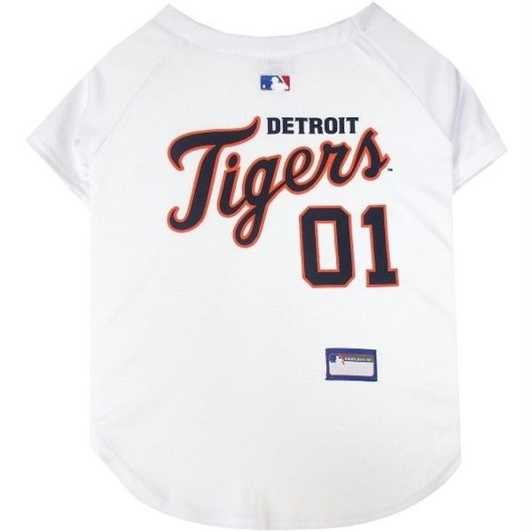 Hunter Detroit Tigers Pet Dog Baseball Jersey Bandana S//M