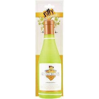 """Silly Squeakers Wine Bottle Dog Chew Toy - """"Kennel Relaxing"""" Chardonnay"""