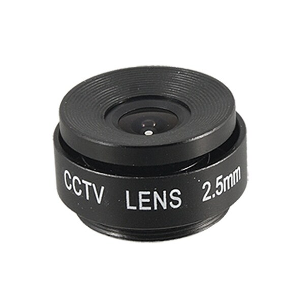 Unique Bargains CS Mount F2.0 2.5mm CCTV Board Lens for Security Camera