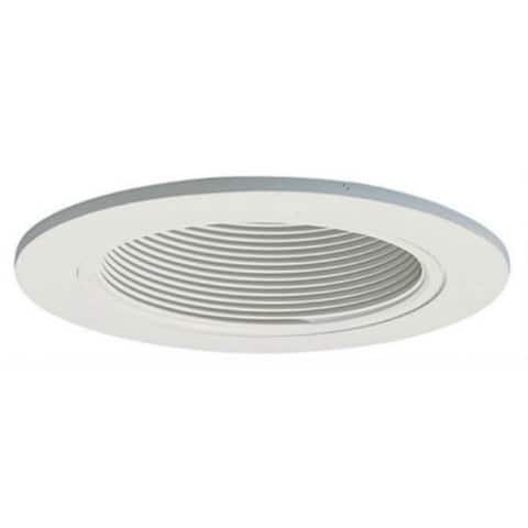 "Halo 993W Coilex Baffle with Trim Ring, 4"", White"
