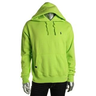 Polo Ralph Lauren Mens Fleece Long Sleeves Hoodie - M