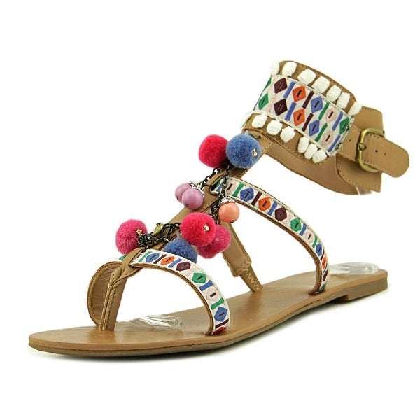 Mix No 6 Jestine Women Open Toe Synthetic Multi Color Thong Sandal