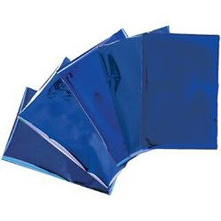 "Heatwave Foil Sheets 4""X6"" 30/Pkg-Blue"