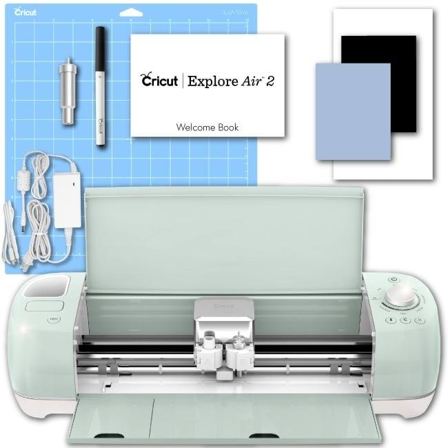 Cricut Explore Air 2 Mint Machine Electronic Digital Vinyl Die Cutting DIY