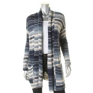 Denim & Supply Ralph Lauren Womens Cardigan Sweater Striped Shawl Collar