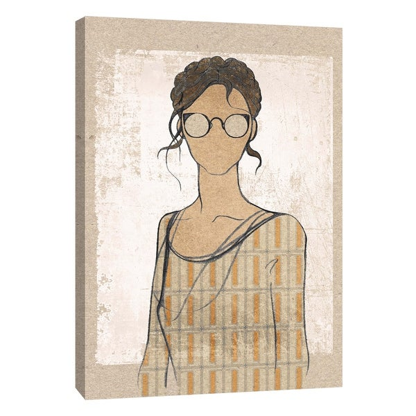 """PTM Images 9-105851 PTM Canvas Collection 10"""" x 8"""" - """"Broadcloth 3"""" Giclee Women Art Print on Canvas"""