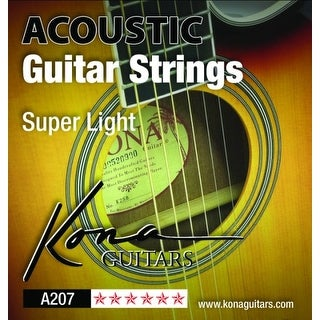 Kona Extra Light Acoustic Guitar Strings