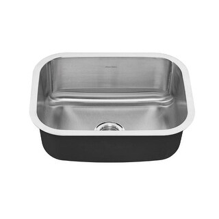 "American Standard 18SB.9231800S Portsmouth 23-3/8"" Single Basin Stainless Steel Kitchen Sink for Undermount Installations -"