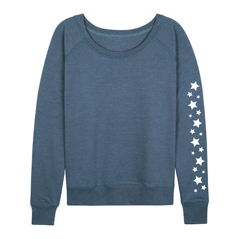Stars - Women's Lightweight French Terry Pullover