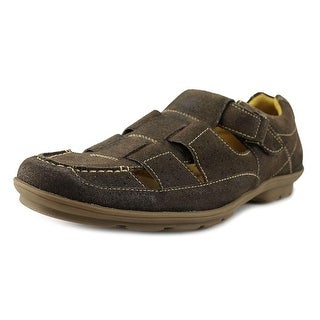 Sandro Moscoloni Fisherman Round Toe Leather Fisherman Sandal