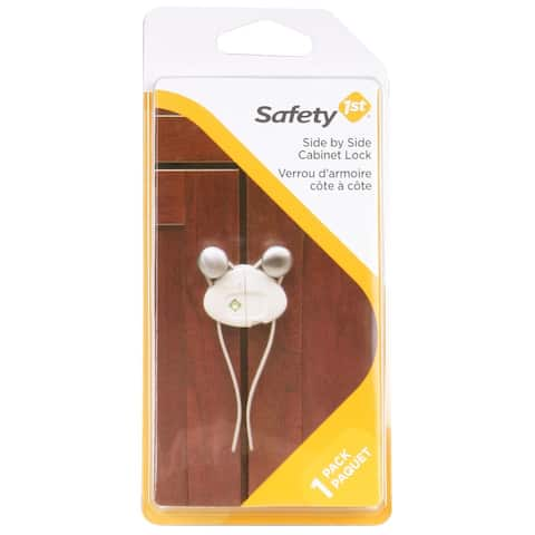 Safety 1St HS158 Side by Side Cabinet Lock, 2-Pack