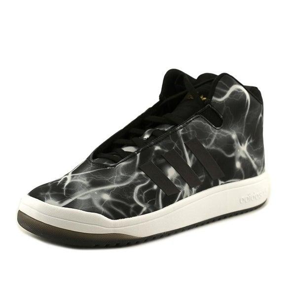 Adidas Veritas Mid Round Toe Canvas Sneakers
