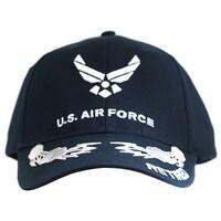 58122689448 Shop U.S. Air Force Veteran III Scrambled Eggs Hat Blue Cap USAF ...