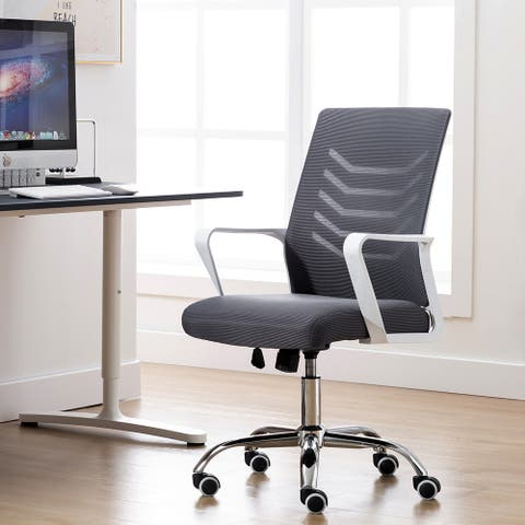 Porthos Home Baez Mesh-back Height-adjustable Swivel Office Chair