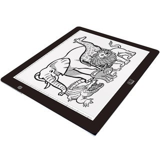 Adesso - Adesso 12X9inches Usb Led Light Tracing Pad , Fits A4 Size, With Adjustable Br