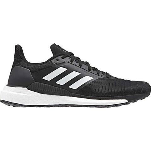 bfc8312479ef7 adidas Men s Solar Glide Running Shoe Black White Black