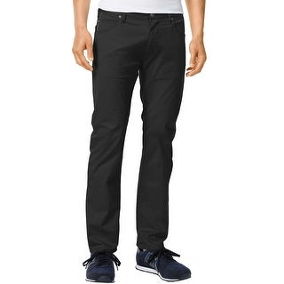 Armani Jeans J45 Slim Fit Black Comfort Fabric Jeans 31 x 30