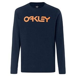 Oakley Mens Mark Ii L/S Tee, Fathom, Xl